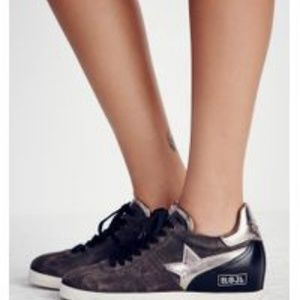 Ash Guepard Leather Sneakers NEW!